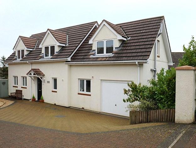 The Tucker family home in Torquay, South Devon