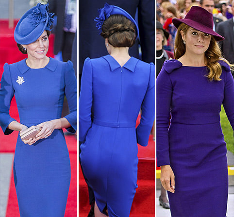 Round One to Kate in the fashion face-off with Canada's First Lady