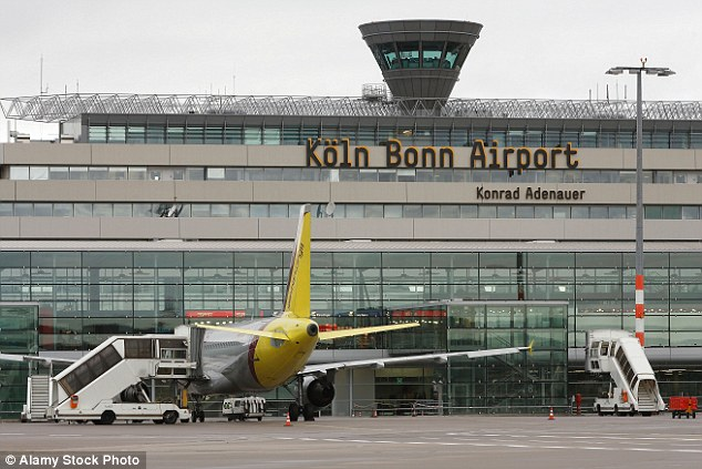 eu inspectors smuggled bomb parts through cologne airport daily mail online. Black Bedroom Furniture Sets. Home Design Ideas