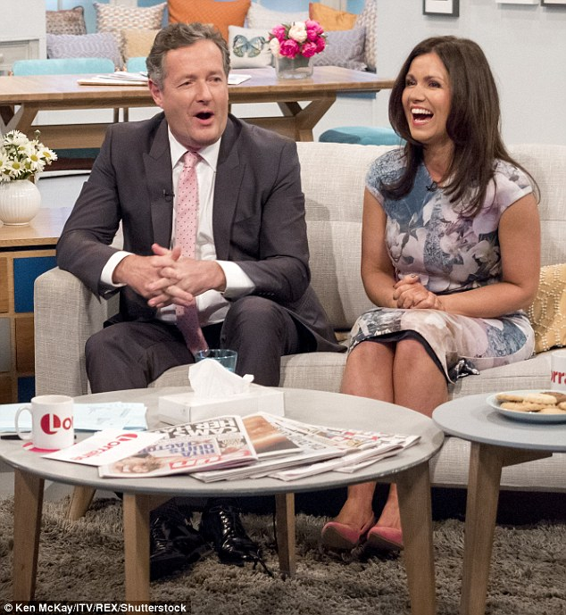 Good Morning Briatain S Susanna Reid Steals Limelight From