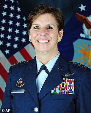 Air Force four-star general becomes the FIRST woman to head a top-tier ...