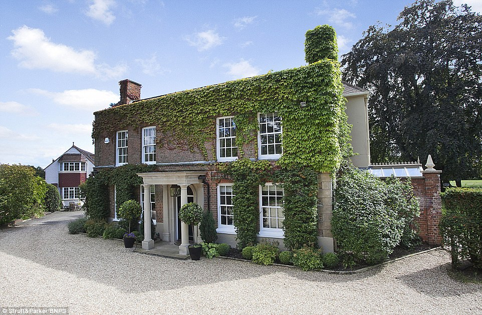 Grade Ii Listed Surrey Manor House Bought By The Queen