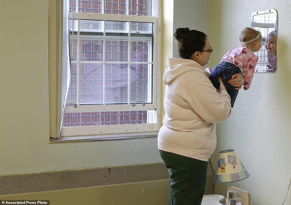 Inside america 39 s maximum security prisons where babies stay with their mothers daily mail online - What can girl room look like ...