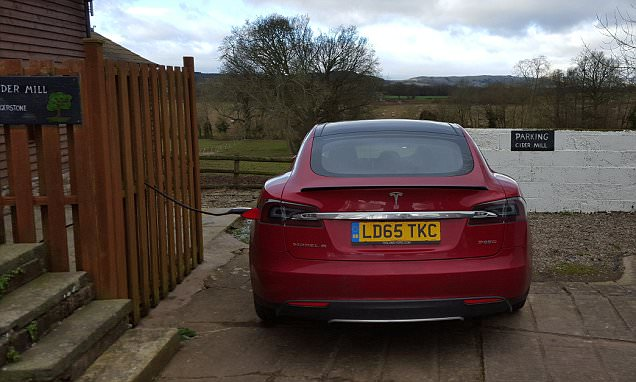 Can a Tesla Model S get to Wales and back? We test it long-distance