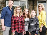 Daily Mail Money Mail. Family from Shipley, West Yorkshire whose bad credit score stopped them getting a mortgage: James Bell, his wife Nichola and their three children, Natasha, 18, Joseph 11 and Charlotte 16.