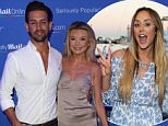 Image licensed to i-Images Picture Agency. 22/06/2016. Cannes, France. Made in Chelsea stars   arriving  at the third MOL yacht party at the Cannes Lions festival in France. Picture by Stephen Lock / i-Images