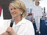 Image licensed to i-Images Picture Agency. 23/06/2016. Cannes, France. Martha Stewart at a brunch on the quayside next to the MOL yacht at the Cannes Lions festival in France.  Picture by Stephen Lock / i-Images  FOR MOL