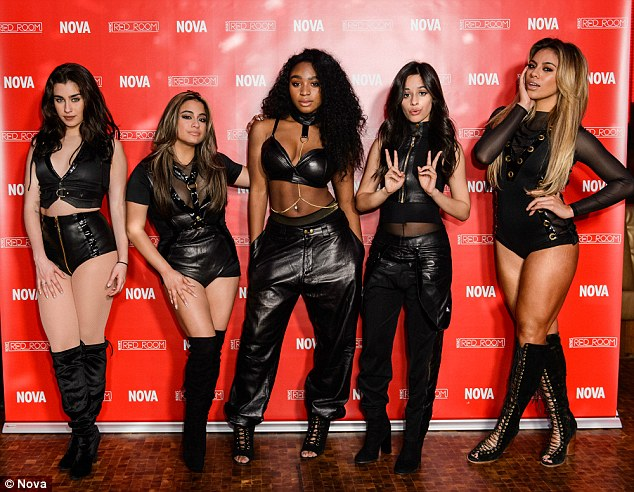 Fifth Harmony Wear Skimpy Outfits For Nightclub Nova Red