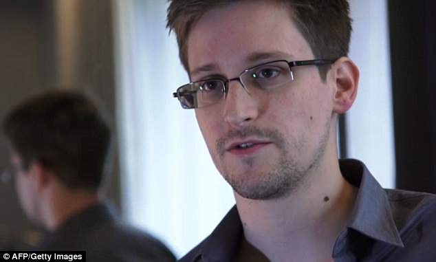 Government whistleblower Edward Snowden (pictured) says that people should not use Google's Allo app if they care about their privacy