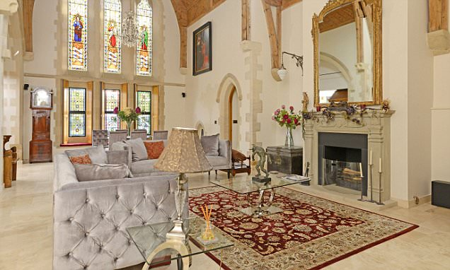 Homes of praise: Church conversions are a challenge but the results can be heavenly (and