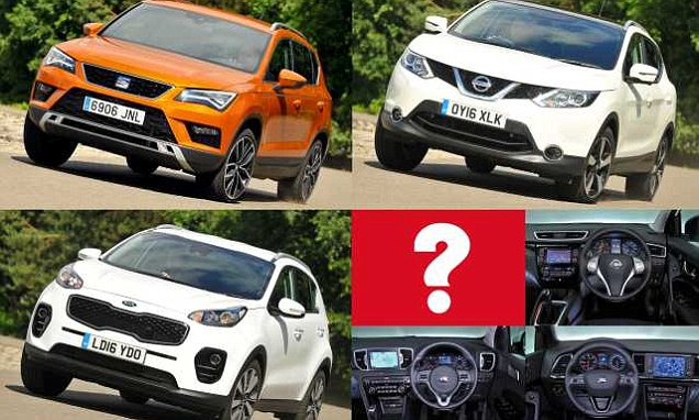 Budget-friendly family SUV group test