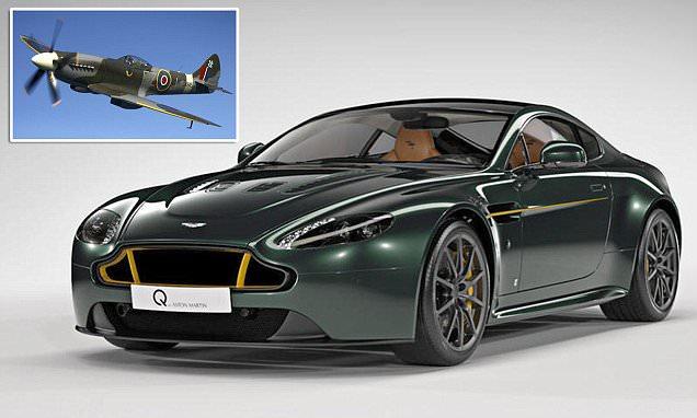 Special Edition Aston Martin V12 Vantage S Spitfire 80