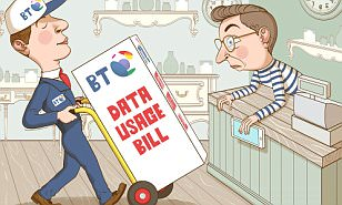 BT offered me a cheap mobile with my landline then billed me £1,584 to use internet