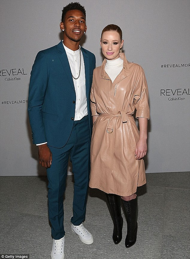 Split: Iggy announced her split from Nick in June after he was caught cheating with his ex Keonna Greenand getting her pregnant with his second child