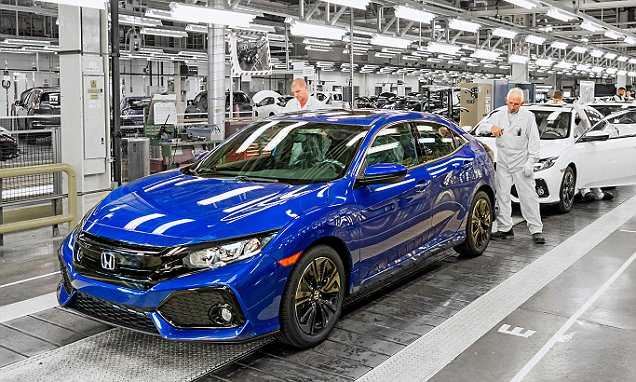 Built in Britain — the car that could conquer America: Brexit boost as Honda makes UK its