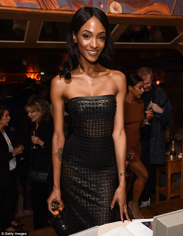 Jourdan Dunn leads the glamour at Vogue's Voice of a ...