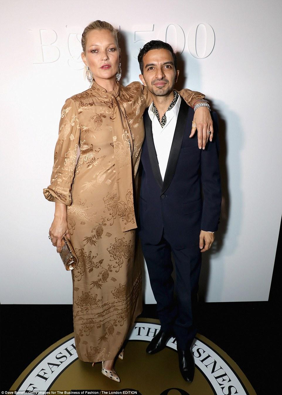 Kate Moss leads the fashion pack at Miu Miu London's pop-up club