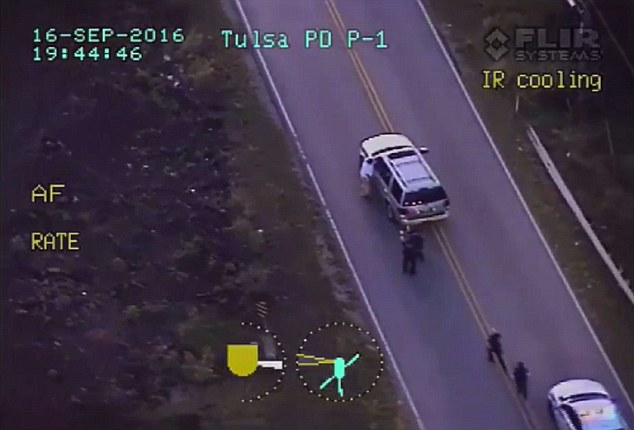 Officers in the helicopter predicted their ground colleagues were going to use their taser