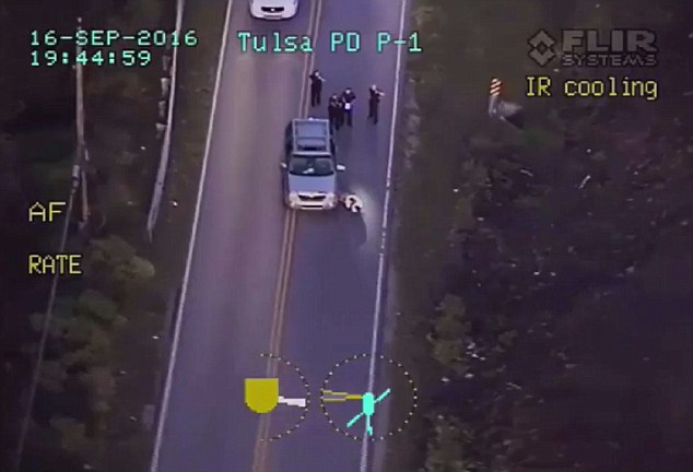 Seconds later, Crutcher was laying on the ground with the call 'shots fired' on the radio