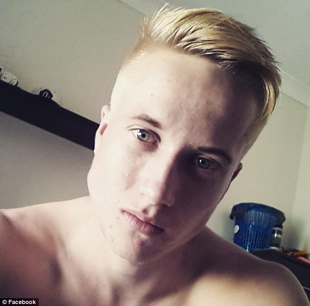 Trent Thorburn, 19, is alleged to have told a cousin in a Facebook message that he had slept with his foster sisterTiahleigh Palmer and was concerned she was pregnant