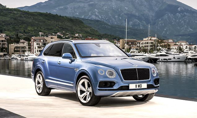 Bentley launches it's first diesel, the Bentayga V8 diesel