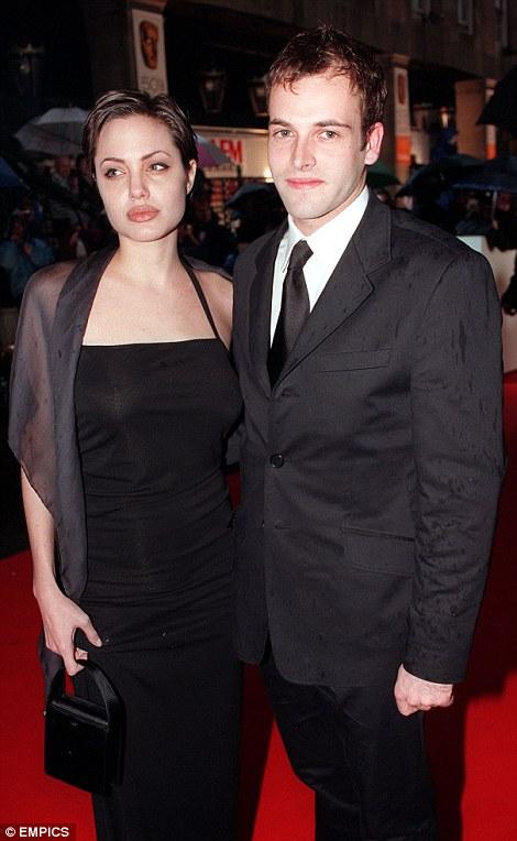 Jolie and Johnny Lee Miller