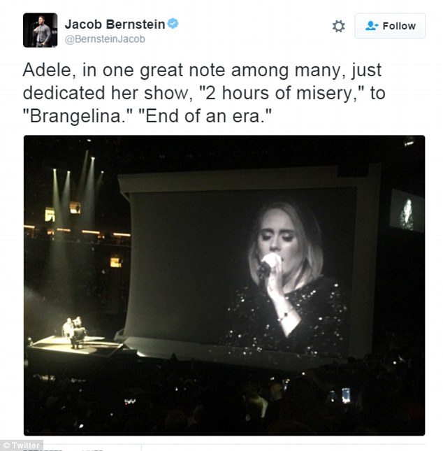 'Misery:' One fan quoted her saying 'two hours of misery' after she dedicated the show