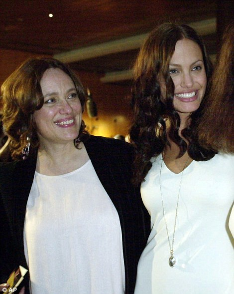 Jolie's mom, Marcheline Bertrand, who died of ovarian cancer in 2007, had always been Angelina's biggest influence, friends say. They are pictured together in 2001