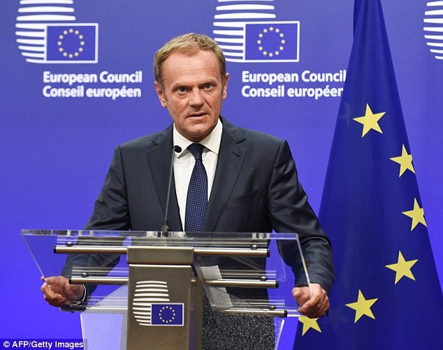 European Council president Donald Tusk went even further by suggesting that Brexit could lead to the end of Western civilisation