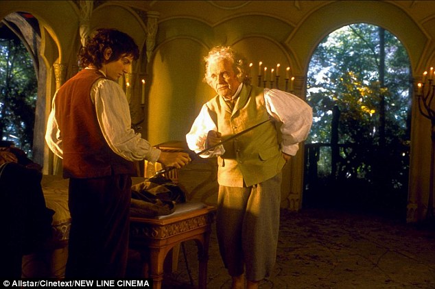 For hobbits such as Bilbo and Frodo (as seen in Lord of the Rings: The Fellowship of the Ring) the tiny home was the perfect size for their diminutive proportions