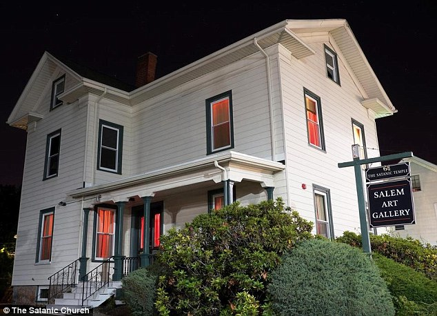 This old art gallery on Bridge Street in Salem will be the global headquarters for the Satanic Temple movement - and residents don't seem to care