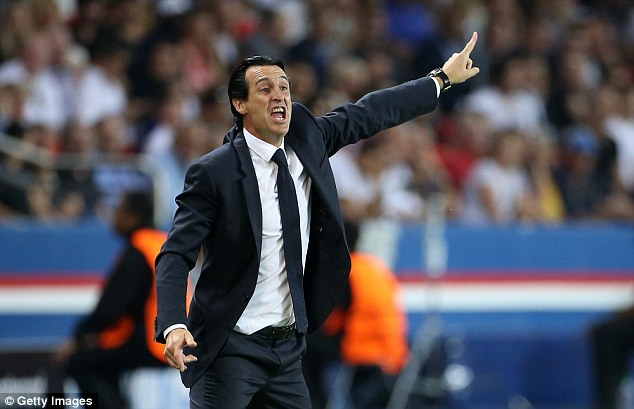PSG boss Unai Emery has questioned the attitude of the former Newcastle forward