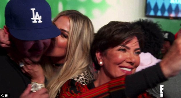 Overwhelmed: The star says, 'It's just exactly what I didn't want, I just feel like all eyes are on me and I just wish everything could be normal and we could focus on Khloe, I'm not about all the theatrics and stuff'