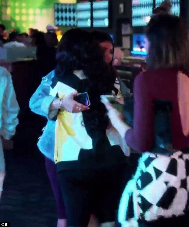 Hug it out: Kylie Jenner and Blac Chyna come face-to-face in a yet-to-air episode Rob & Chyna