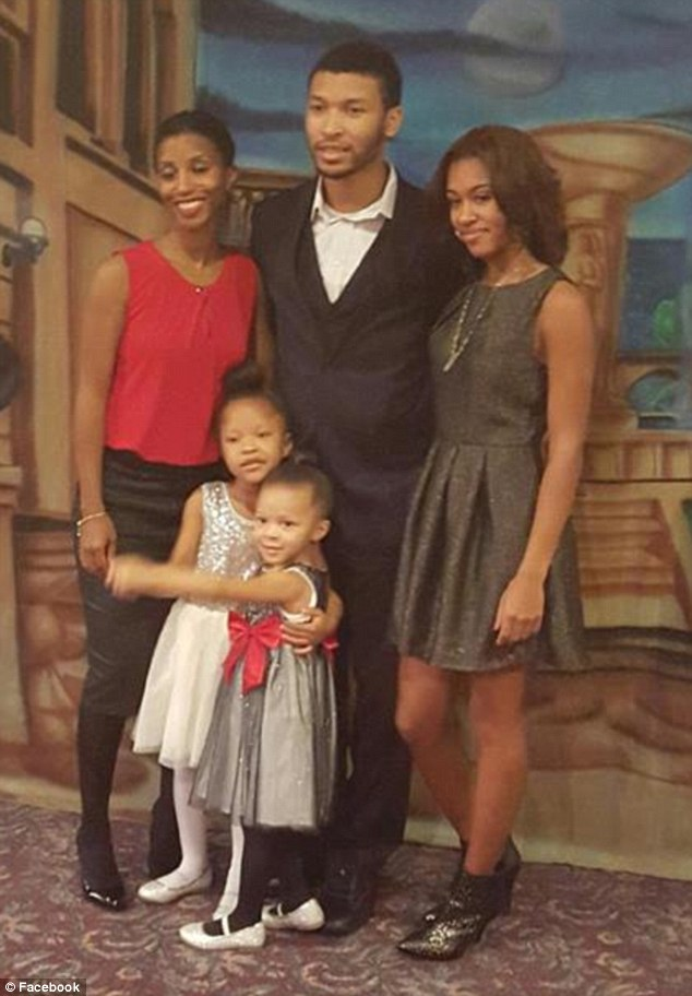 Green was arrested for the killings of his two young girls and two stepchildren on Wednesday. He also critically injured his wife, who is expected to survive her injuries (all five victims pictured) at their home in Michigan, police said