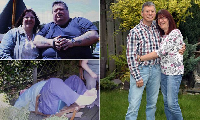 Newcastle couple shed 24 STONE so they can be 'good role models' for grandchildren