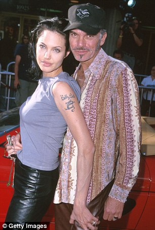 Never forget the Angelina who had sex in the limo off the red carpet and carried Billy Bob¿s blood around her neck, changing up her naff tattoos with each new man