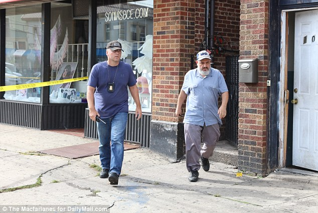 Father: Mohammad Rahami was seen outside the family home on Tuesday. The FBI alleged that the family's back yard was used two days before the bombings to