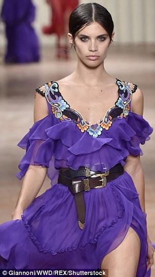 Model moment: Victoria's Secret model Sara Sampaio walked in the show