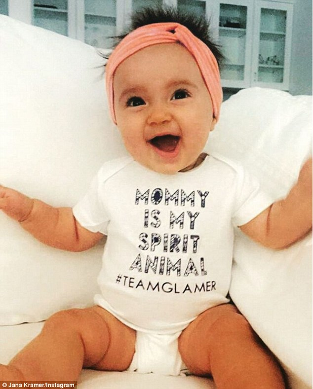 Baby love! Jana and Mike's daughter, Jolie, was born on January 31 in Nashville