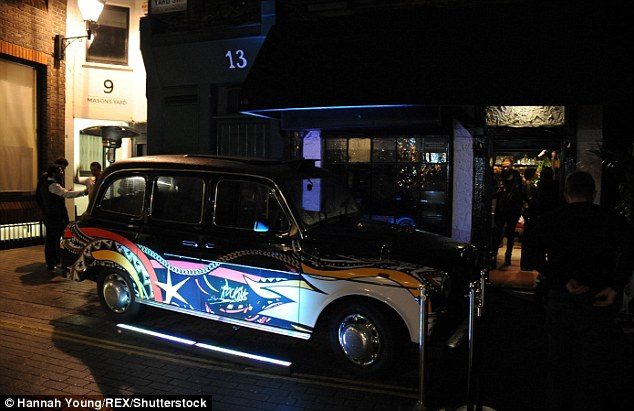 Exclusive nightspot The Scotch of St James, where the alleged incident took place