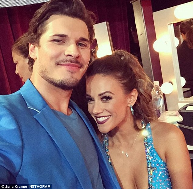 Light on her feet! Kramer is now currently competing on Dancing With The Stars with her dance pro partner,Gleb Savchenko