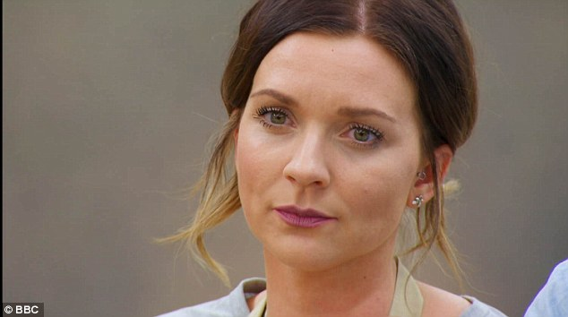 Out and a pout:While Val's departure truly stole the show, divisive Candice was also the centre of a heated Twitter discussion as her 'smug' pout was cause for annoyance