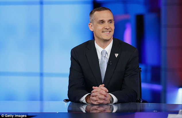 Still getting paid: Controversial ex-Trump adviser Corey Lewandowski's consulting firm received $20,000 in August. He is now a CNN commentator