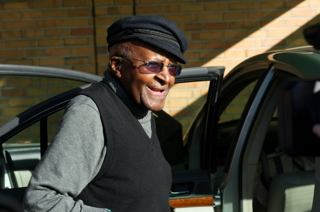 South African anti-apartheid leader and Nobel Peace laureate Desmond Tutu was discharged from hospital