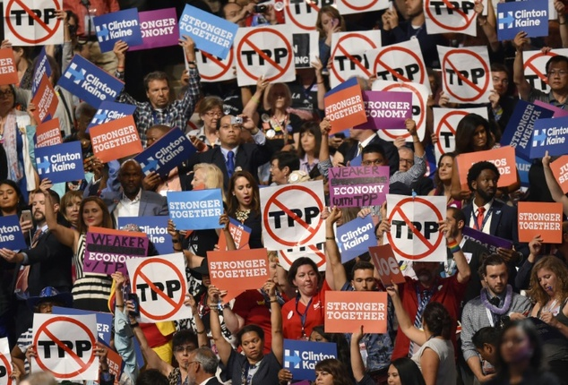 Both US presidential hopefuls Donald Trump and Hillary Clinton have said they oppose the TPP
