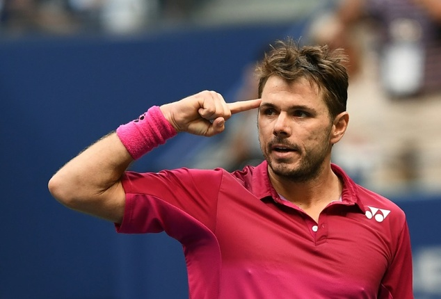 """After beating Czech Republic's Lukas Rosol, Stan Wawrinka said, """"I was really focused trying to be aggressive, trying to find the right way for the first rou..."""