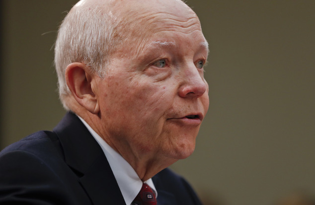 IRS Commissioner John Koskinen testifies on Capitol Hill in Washington, Wednesday, Sept. 21, 2016, before the House Judiciary Committee's impeachment hearing...