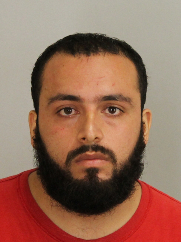 FILE - This September 2016 file photo provided by Union County Prosecutor's Office shows Ahmad Khan Rahami, who is in custody as a suspect in the weekend bom...