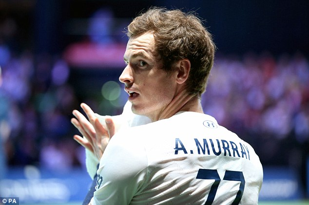 Murray gave only partial approval to proposed changes to the Davis Cup on Wednesday